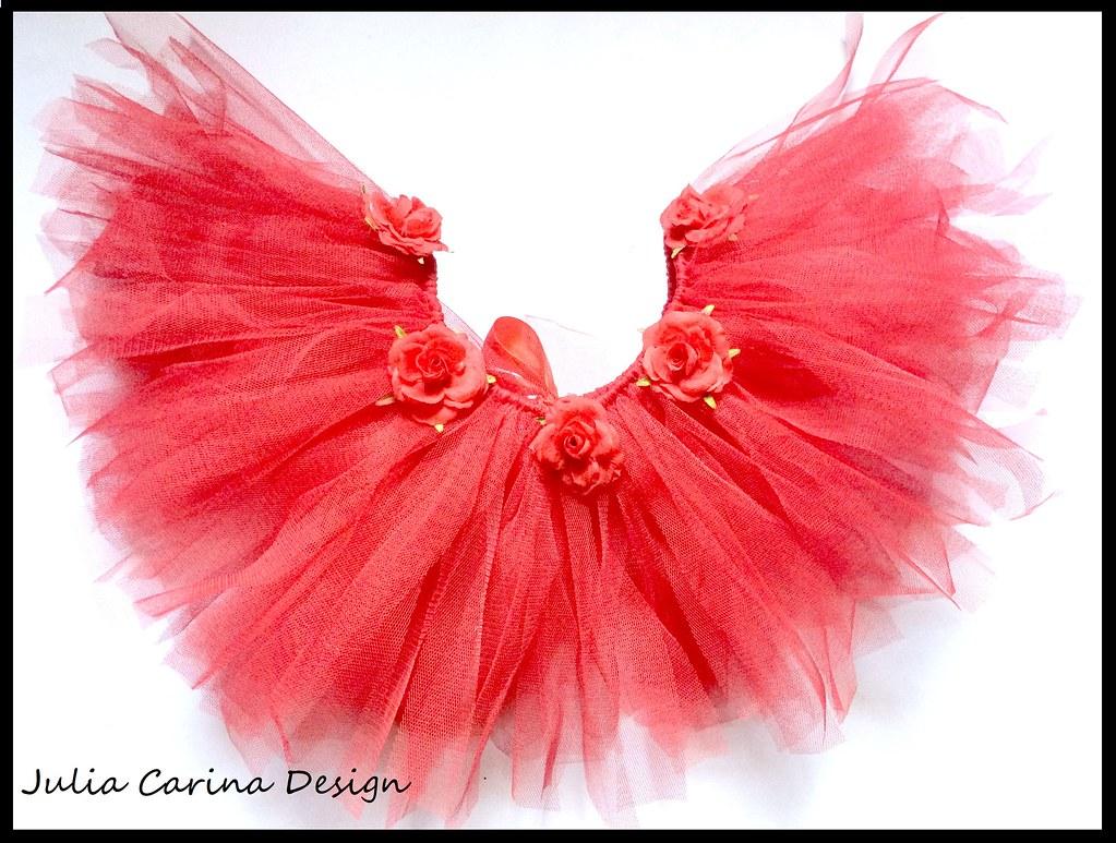 085d6220a4 valentin napi rozsás piros tull szoknya kislány fotózás Julia Carina design  egyedi kézzel készült Budapest