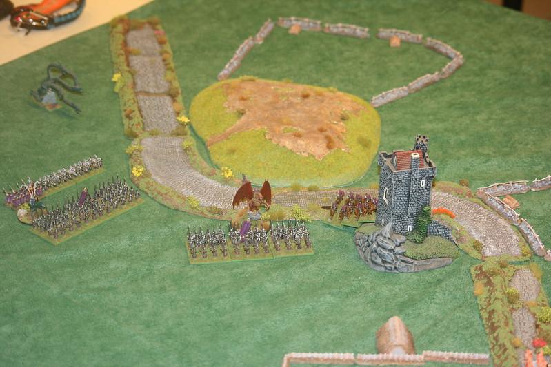 [1300 - Orcs vs elfes Noirs] La bataille des piques maudites 45739929635_c5584761c3_c