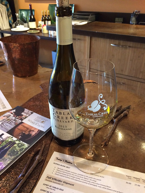 Tablas Creek Vineyard 2015 Roussanne