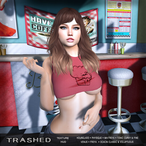 <Trashed>vintage crop