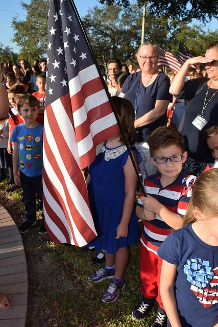 2018 St. Cecelia Interparochial Catholic School Celebrates Veterans Day