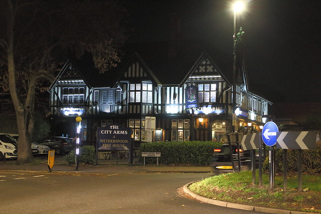 The City Arms Pub, Canon EOS M, Canon EF-M 18-55mm f/3.5-5.6 IS STM
