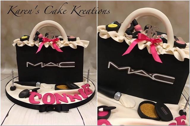 MAC Cake by Karen's Cake Kreations