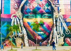 Street Art Mural by Kobra