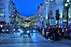 London Christmas Lights.Piccadilly. Nikon D3100. DSC_0409.