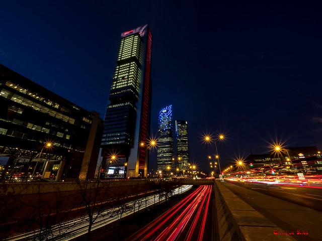 Nocturna de las Torres Business Area-Madrid