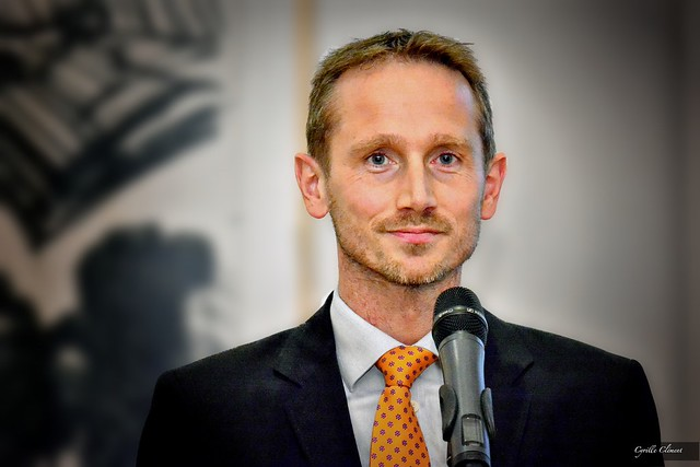 Kristian Jensen, Foreign Minister of Denmark, in Paris, September 2015