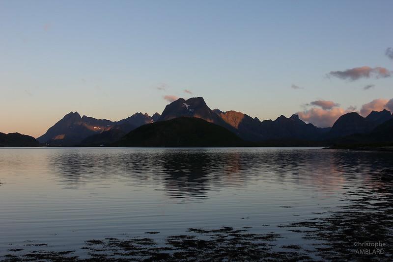 Selfjord depuis Fredvang