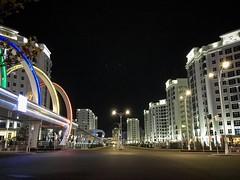 Olympic village in Ashgabat