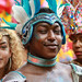 A wry smile ...Leeds West Indian Carnival  (50th)