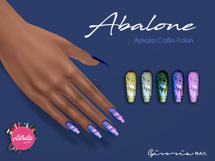 Givoria Nails – Abalone