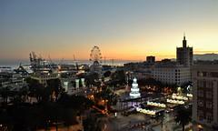 Sundown Malaga. Nikon D3100. DSC_0344
