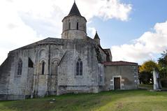 Eglise romane Saint Martin (XIIe), Arces, Saintonge, Charente-Maritime, Nouvelle-Aquitaine. - Photo of Grézac