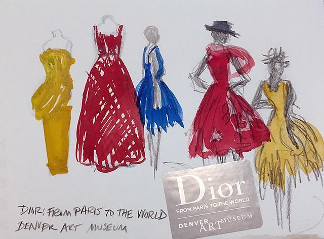 190121 Dior at Denver Art Museum