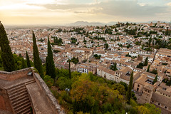 View over the Albaicin from the Alhambra