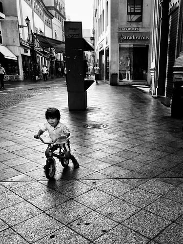 Tricycle fun