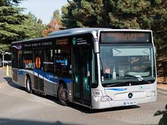 Mercedes Citaro K 633 Bièvre Bus Mobilités, ligne 8, Verrières-le-Buisson
