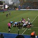 005-20181104_Cardiff Arms Park-Cardiff Blues vs Zebre Rugby Match-1st half action-scrum in Cardiff Blues half of pitch