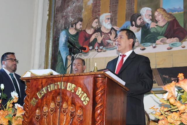 Visita especial en la Iglesia de Penco