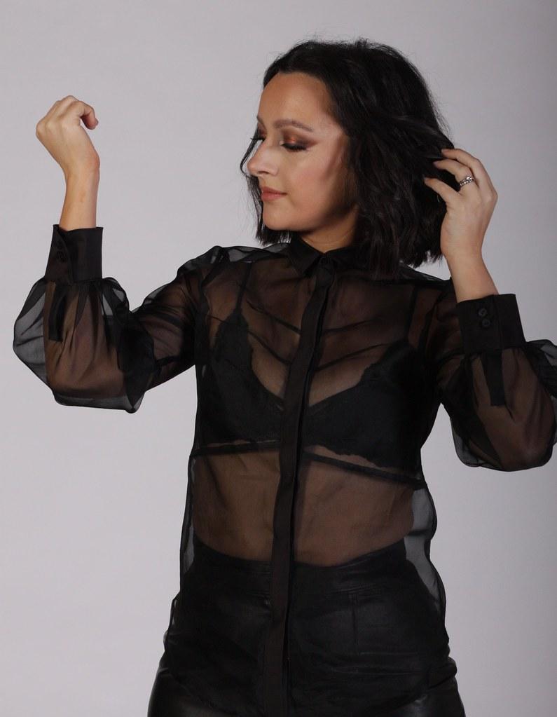 Julia Bobbin - Silk Organza Shirt