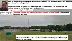 Violent Sex Offender Who Sexually Assaulted 7-Year-old Arrested Again in Violent Unsafe Amsterdam New York