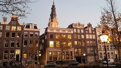 Kloveniersburgwal en Zuiderkerk Amsterdam