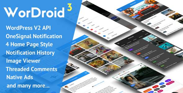 WorDroid v3.2 – Full Native WordPress Blog App