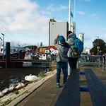 Fehmarn 2017 - Menschen im Hafen