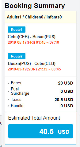 JejuAir Cebu to Busan Roundtrip Promo