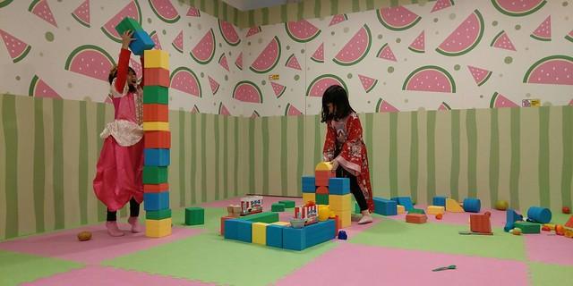 可以堆疊軟積木@遊戲愛樂園大直ATT店水果公園