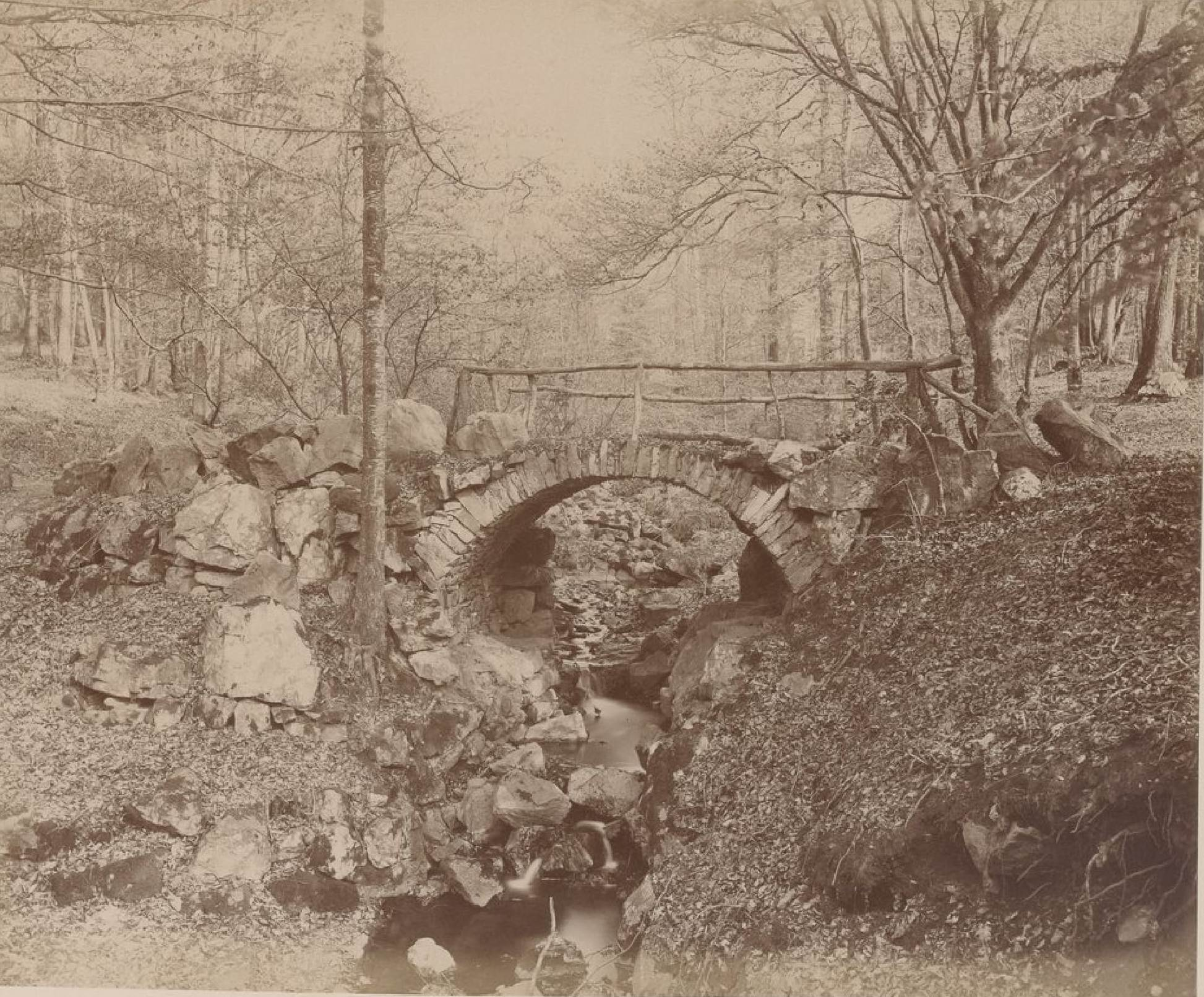 Бельгия. Спа. Променад Мейербер, 20 мая 1888