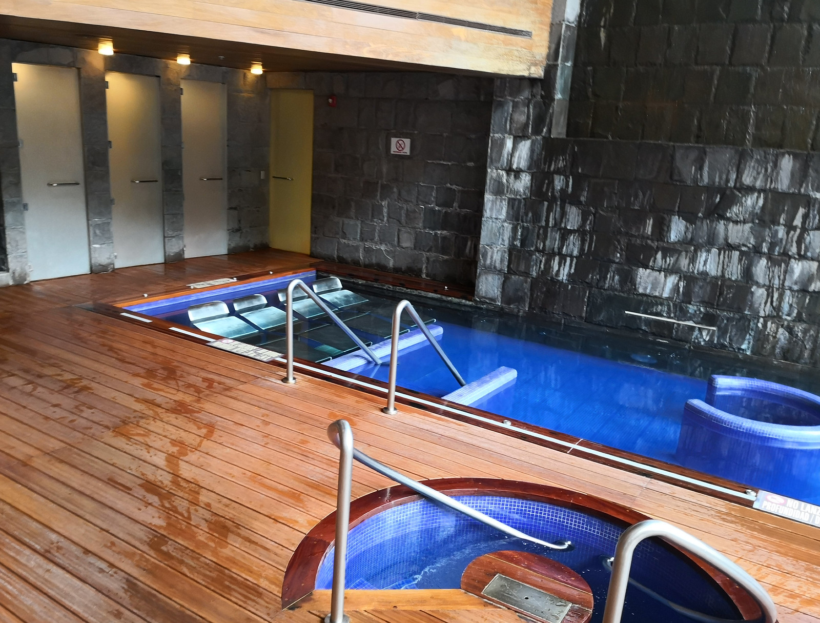 Hydrotherapy pool area
