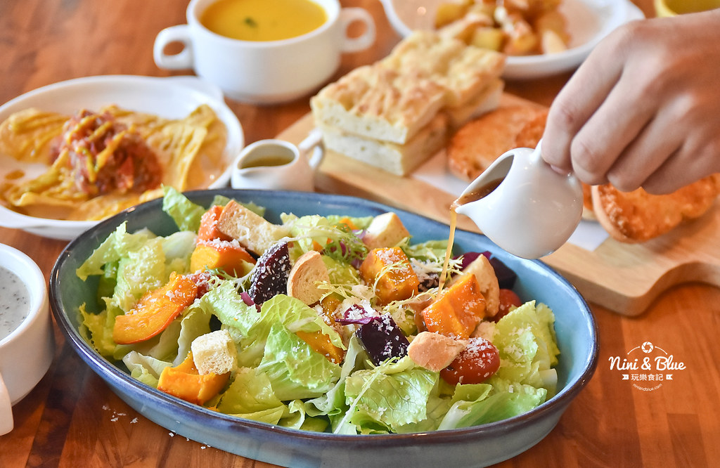 布佬廚房 台中蔬食 素食菜單09