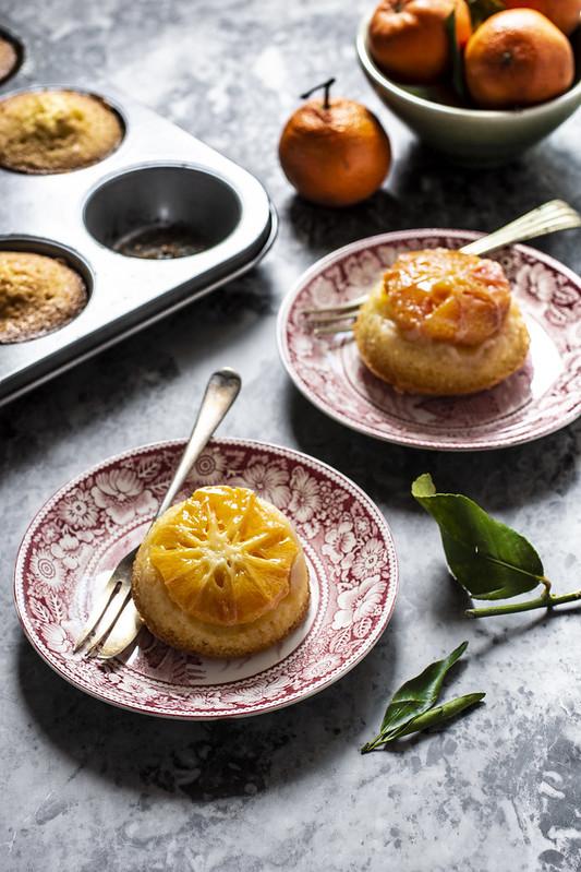 Torta rovesciata clementine