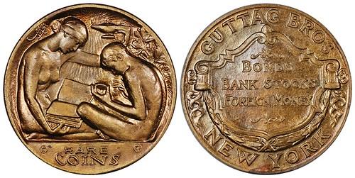 Guttag Brothers Rare Coins storecard