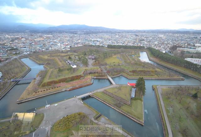 hokkaido itinerary goryukaku fort