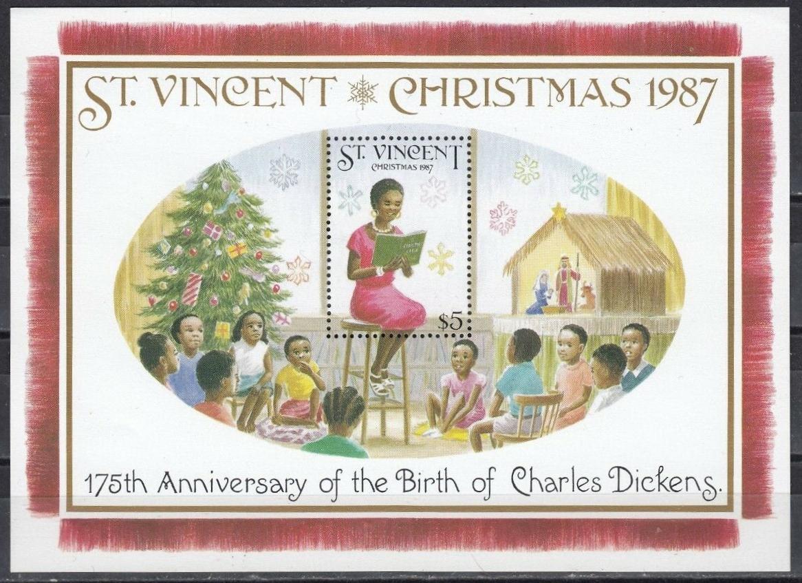 St. Vincent - Scott #1065 (1987)