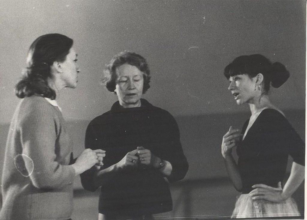 1966. Галина Уланова, Екатерина Максимова