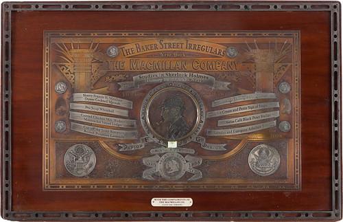 Baker Street Irregulars Toronto American Bank Note plate