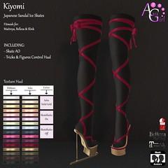 AvaGirl - Kiyomi Japanese Sandal Ice Skates with Skate AO & Tricks Control Hud