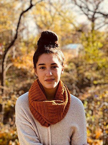 Project Peace 2018 Knit-along cowl by Christina Campbell