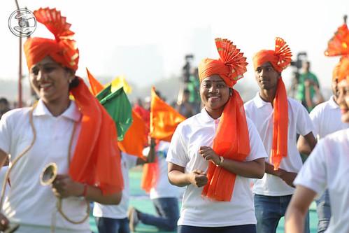 Devotees expressing their joy to see Satguru amongst themDevotees expressing their joy to see Satguru amongst them