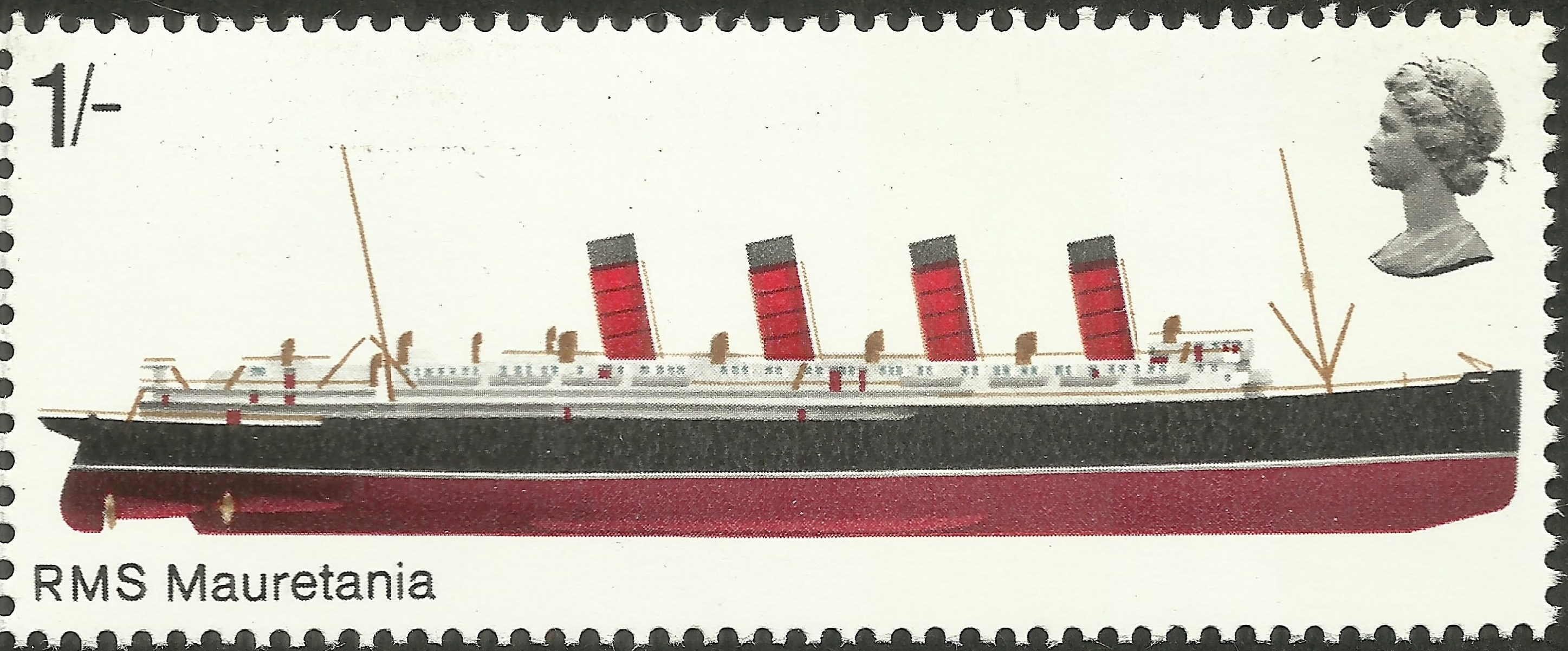 Great Britain - Scott #580 (1969)