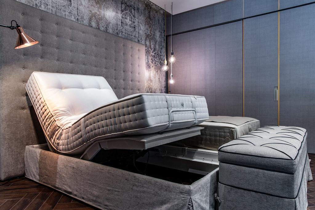 詩蘭慕頂級電動床組Change XL 售價253.6萬元,每一張床墊需要工藝師傅100小時的手工製成 (3)