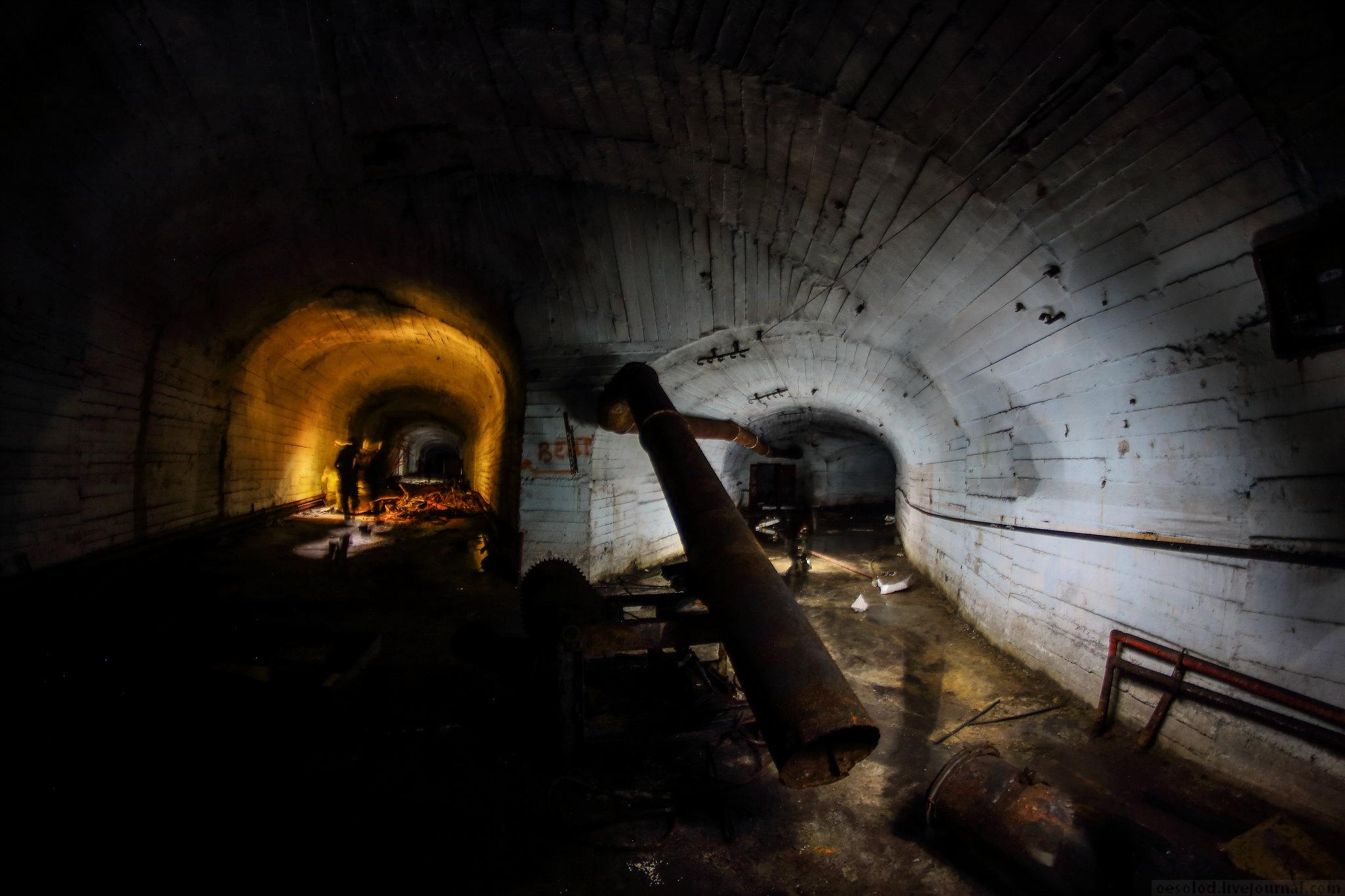 Подземные цеха Уральских гор, огромное убежище в Златоусте.