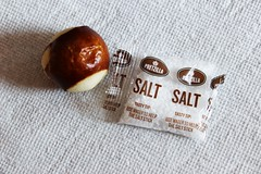 Pretzel Bite with Salt Packet