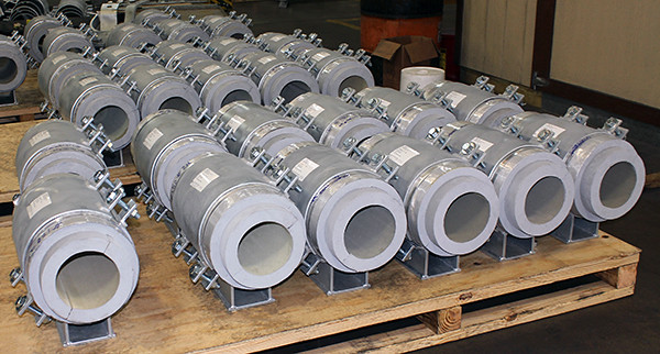 300+ Cryogenic Insulated Pipe Supports Designed for an LNG Pipeline