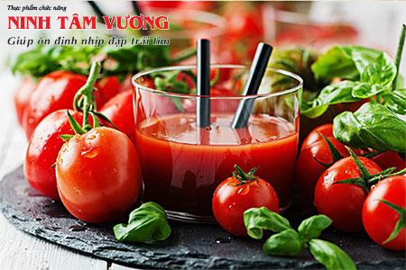 Ăn cà chua giúp giảm nhịp tim, giảm nguy cơ đau tim