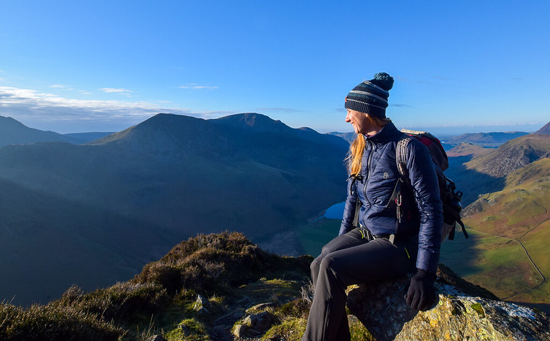 8K Flexwarm heated jacket Borrowdale Hike