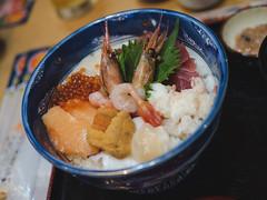 Fresh Seafood Donburi - Hakodate